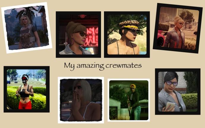 my crewmates